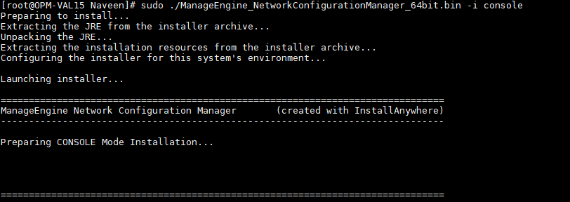 Installation and Getting Started | Network Configuration Manager Help