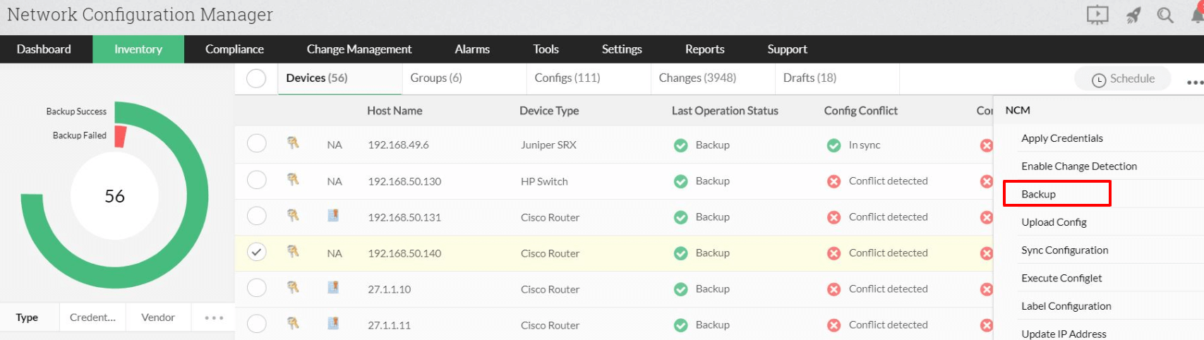 Cisco backup config