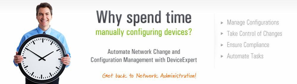 Software de administración de configuración de redes