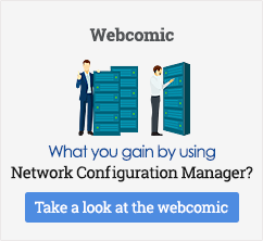 Network Configuration Manager Webcomic