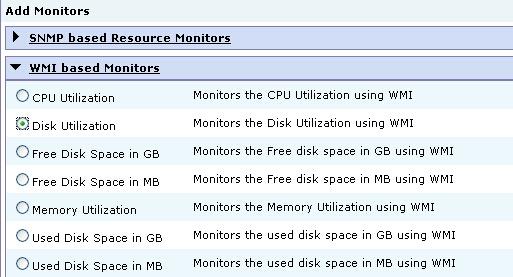 Non-snmp Monitoring