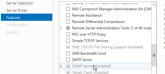 Configuring SNMP Agents in Lotus Domino Server | OpManager Help