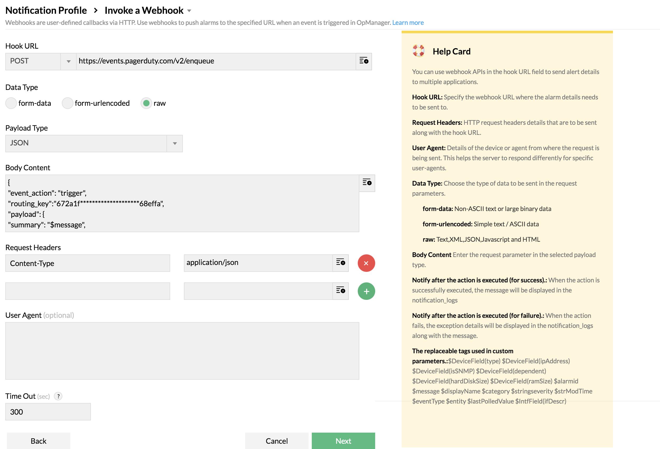 opmanager-pagerduty-integration-webhook
