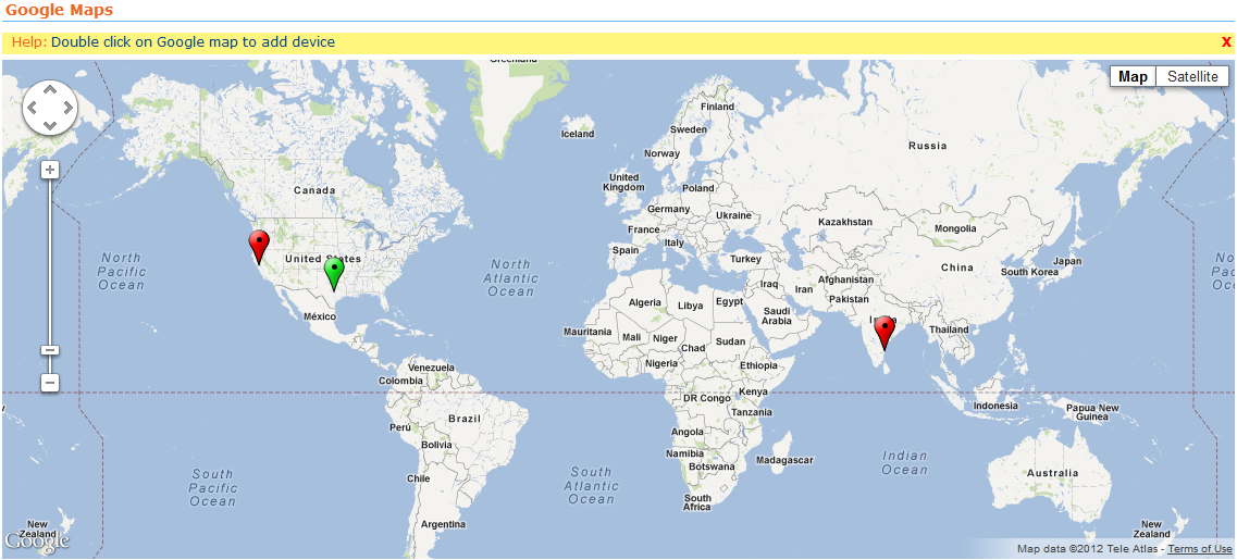 Custom Network Maps Network Mapping Tool Business Views Map - Mauritius map google