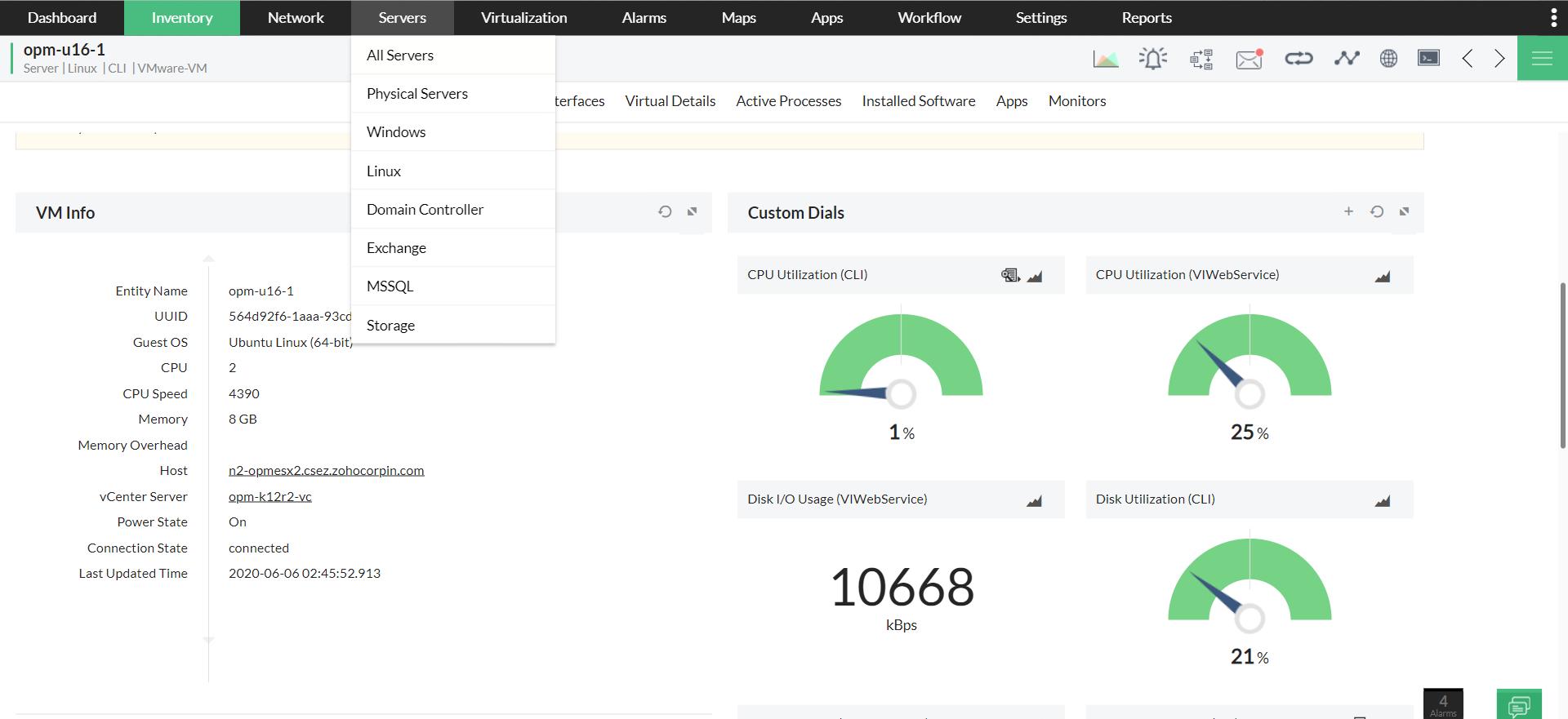 Telnet Monitoring Software - ManageEngine OpManager