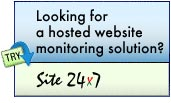 website monitoring solution - Site 24 x 7