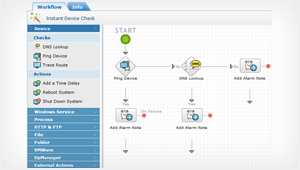 An agile and flexible drag-n-drop workflow builder