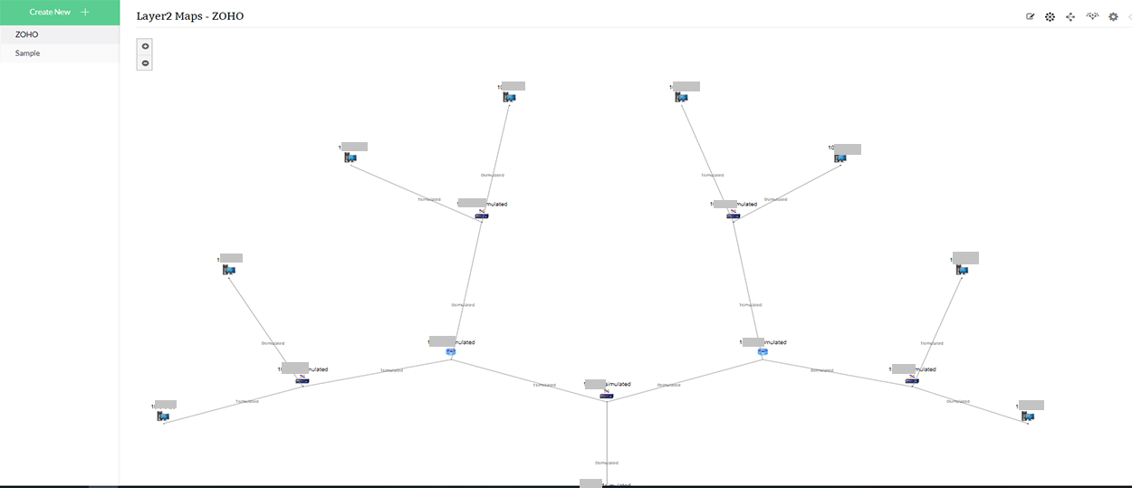 Network Layer Map - ManageEngine OpManager