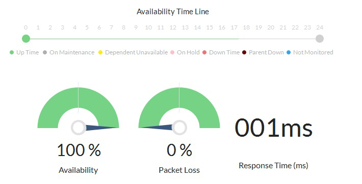 Check Network Performance Availability