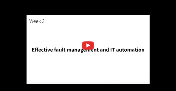 Effective fault management and IT automation in OpManager