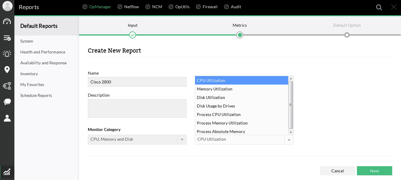Network Performance Report Builder Tool