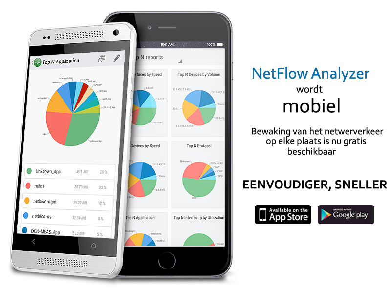 NetFlow Analyzer on Mobile