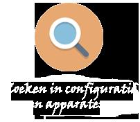 Zoeken in configuratie en apparaten