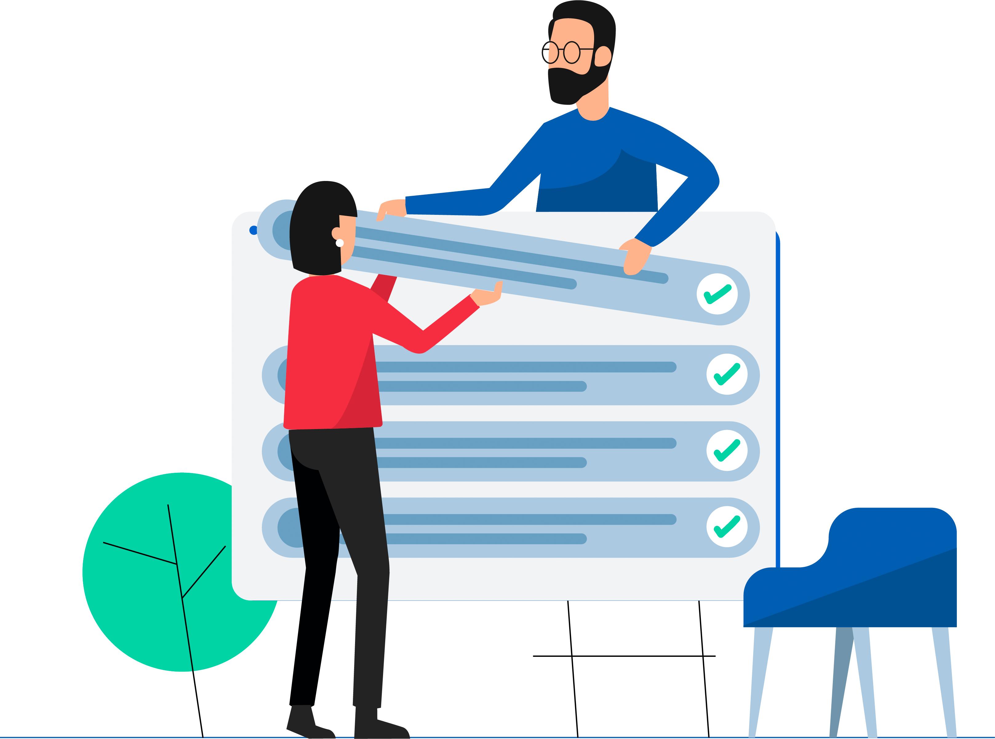 Checklist van functies van wijzigingsbeheer