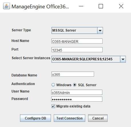 migrate-office365-database
