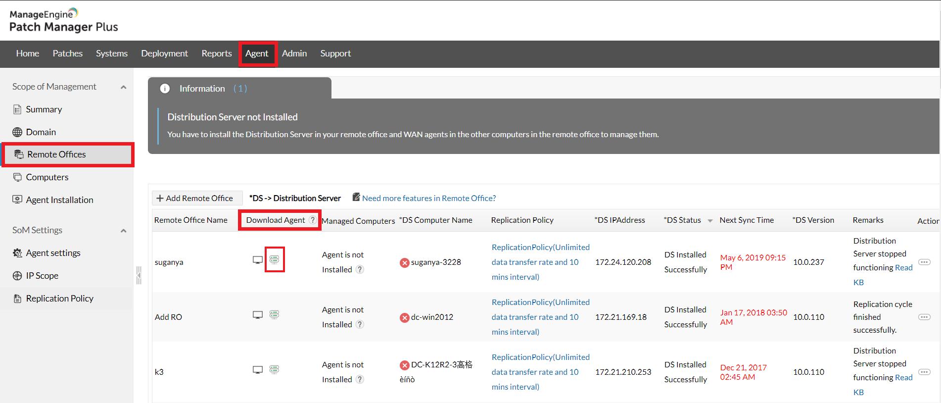 Download Distribution Server