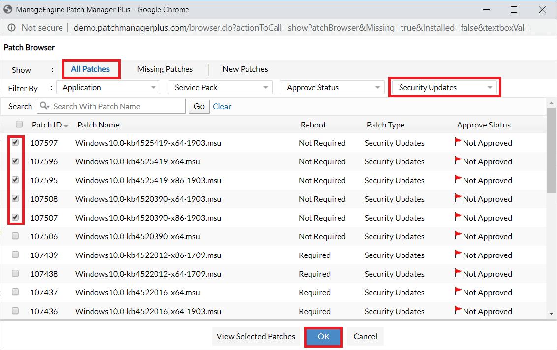 windows security updates