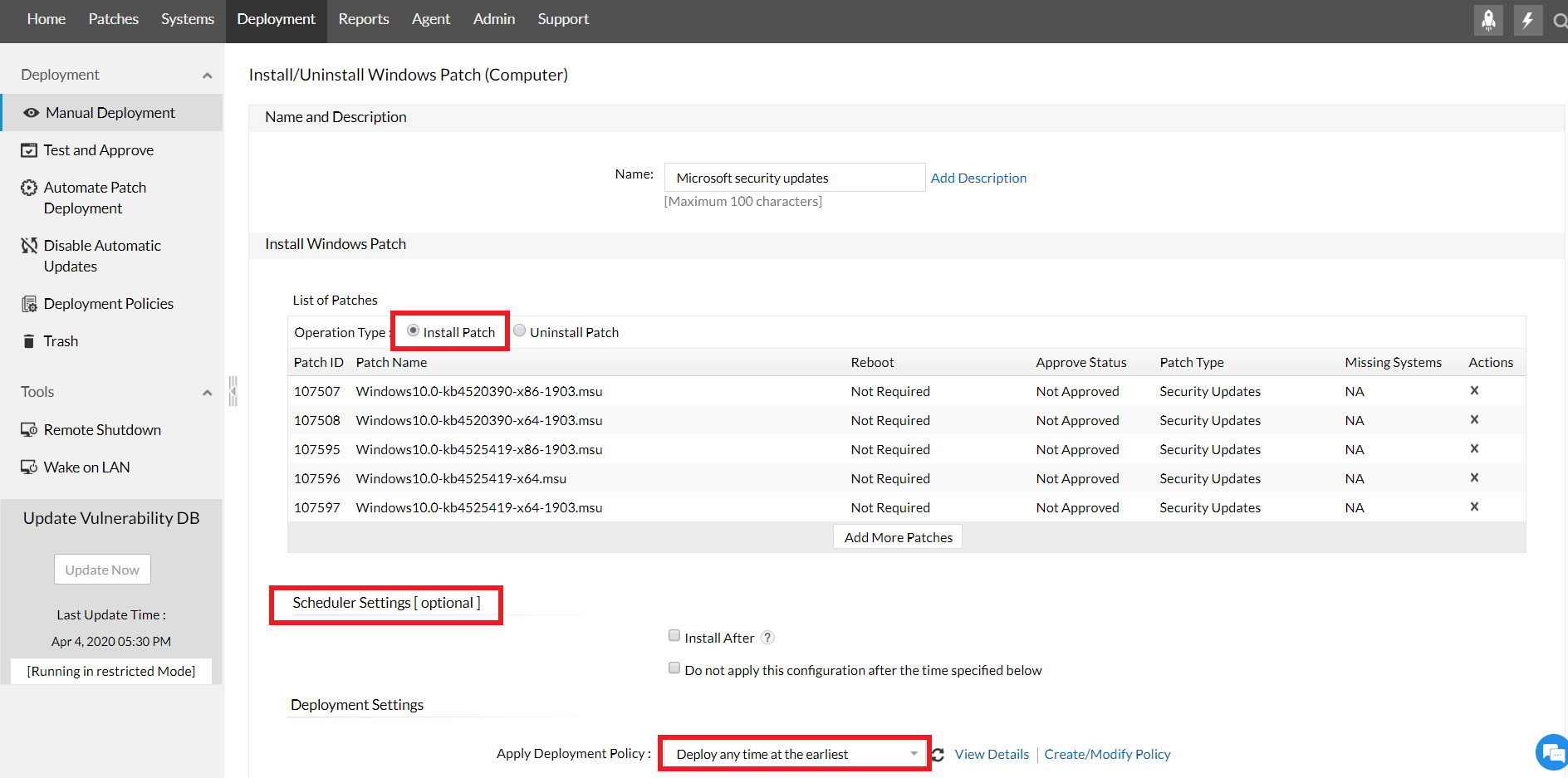 windows security patches