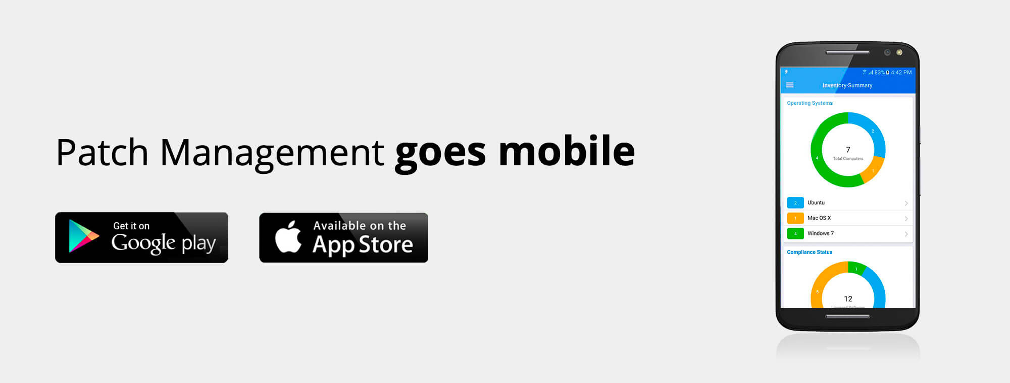 Patch Management using Mobile App