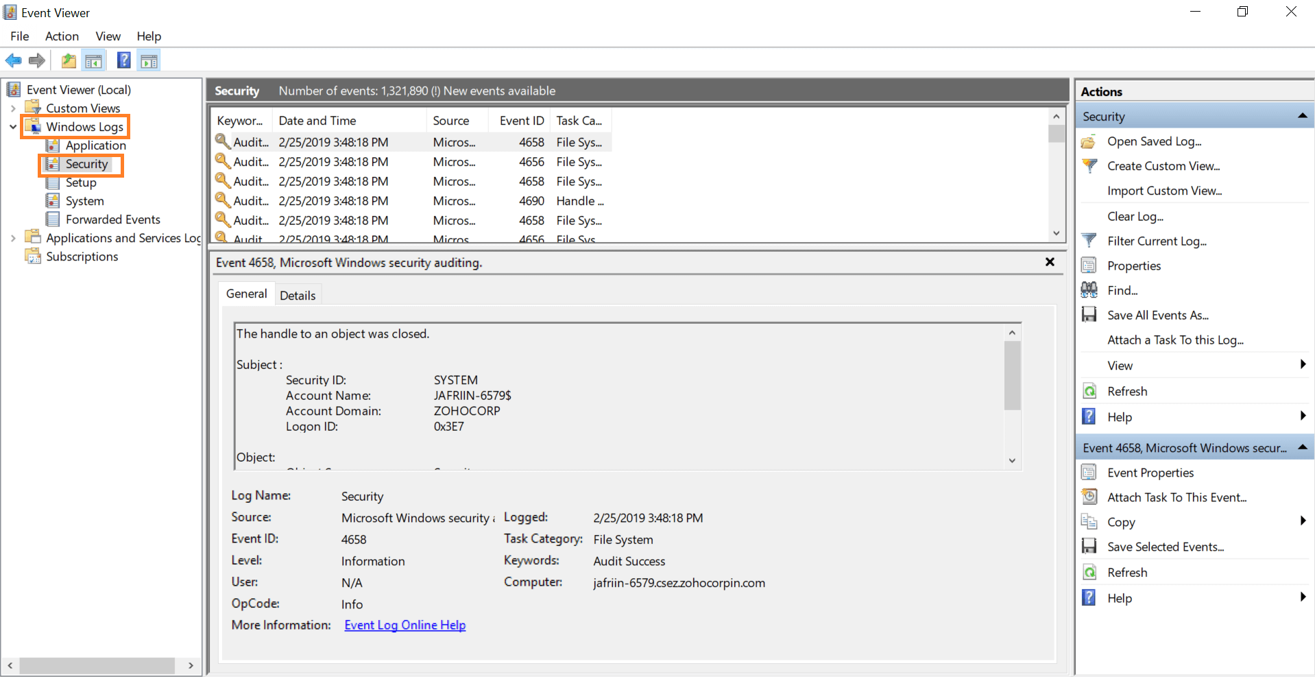 audit-failed-access-attempts-to-shared-folder-security-windows-log