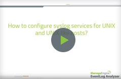 Syslog Server Video