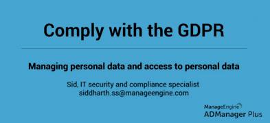 Zgodność z GDPR: Zarządzanie danymi osobowymi i dostępem