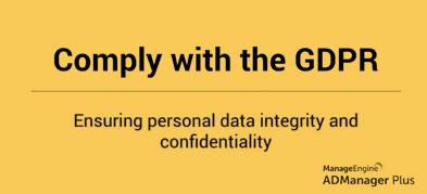 Zgodność z GDPR: Zachowanie integralności danych osobowych