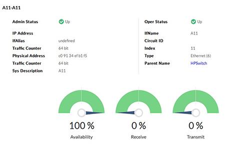 Monitorowanie wydajności ruchu sieciowego
