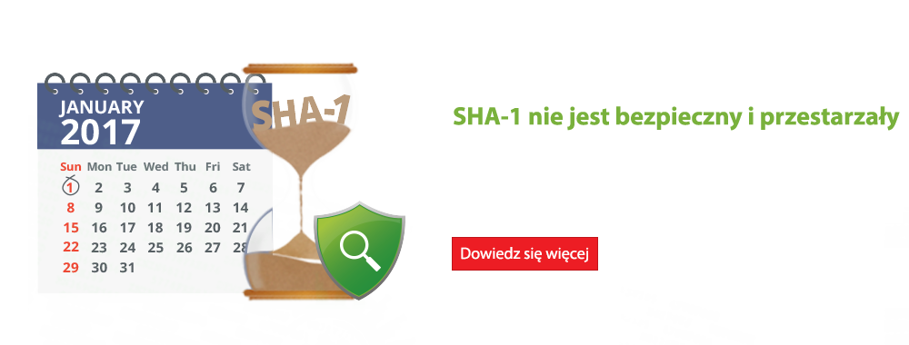 Key Manager Plus wykrywa certyfikaty SHA-1 i pomaga w przejściu na SHA-2.