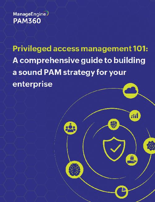 Privileged access management 101 e-book