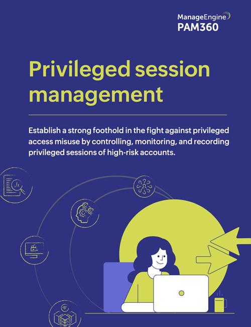 Privileged session management