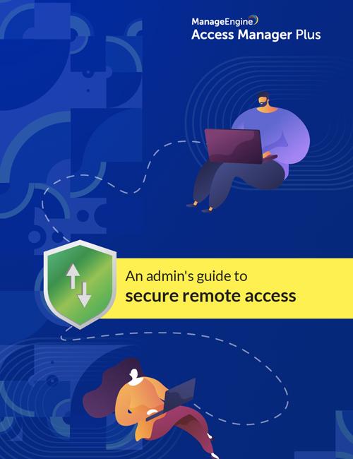 Secure remote access e-book