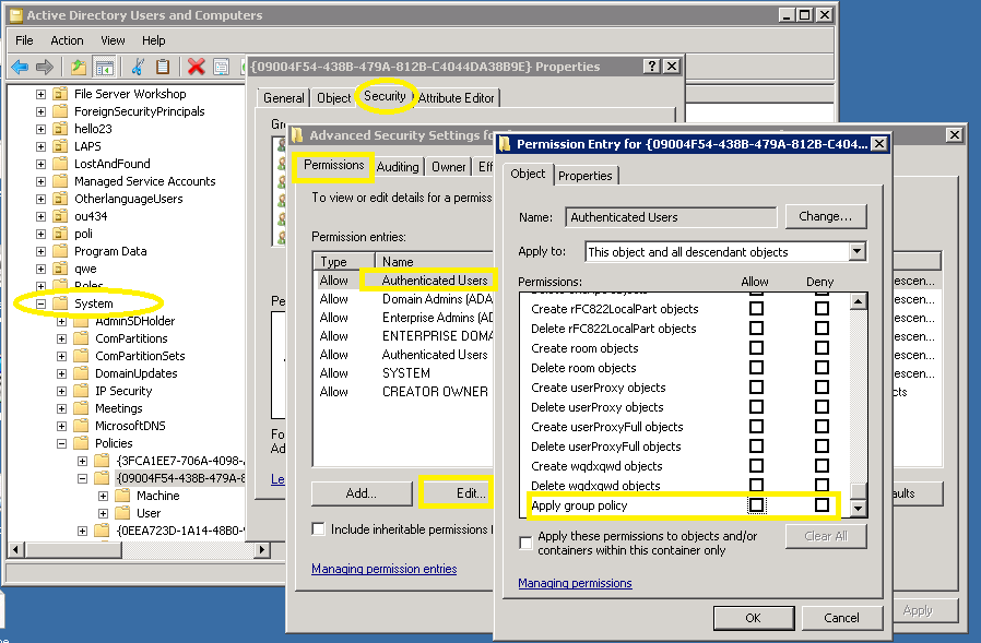 Configuring Audit Policies for Windows File Server Auditing
