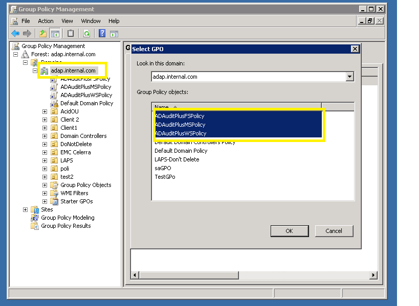 Member Server Group Policy