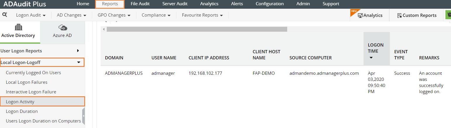 file access report