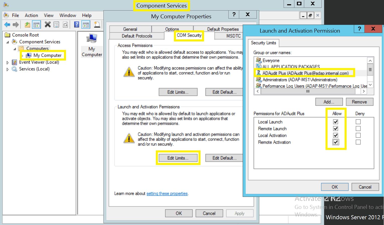 active-directory-audit-grant-user-dcom-wmi-permissions