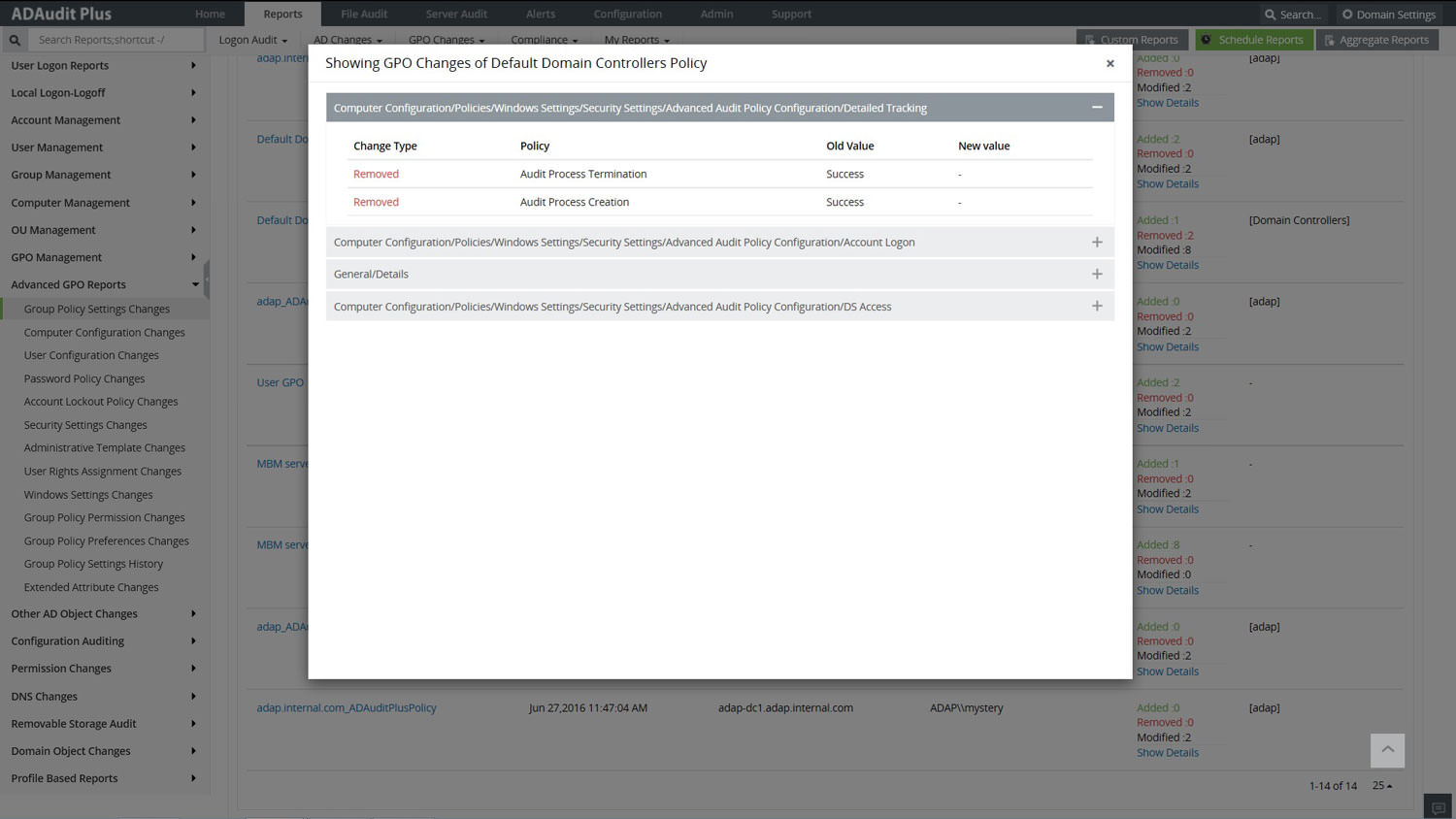 Real-time Windows Active Directory change audit reporting with email ...