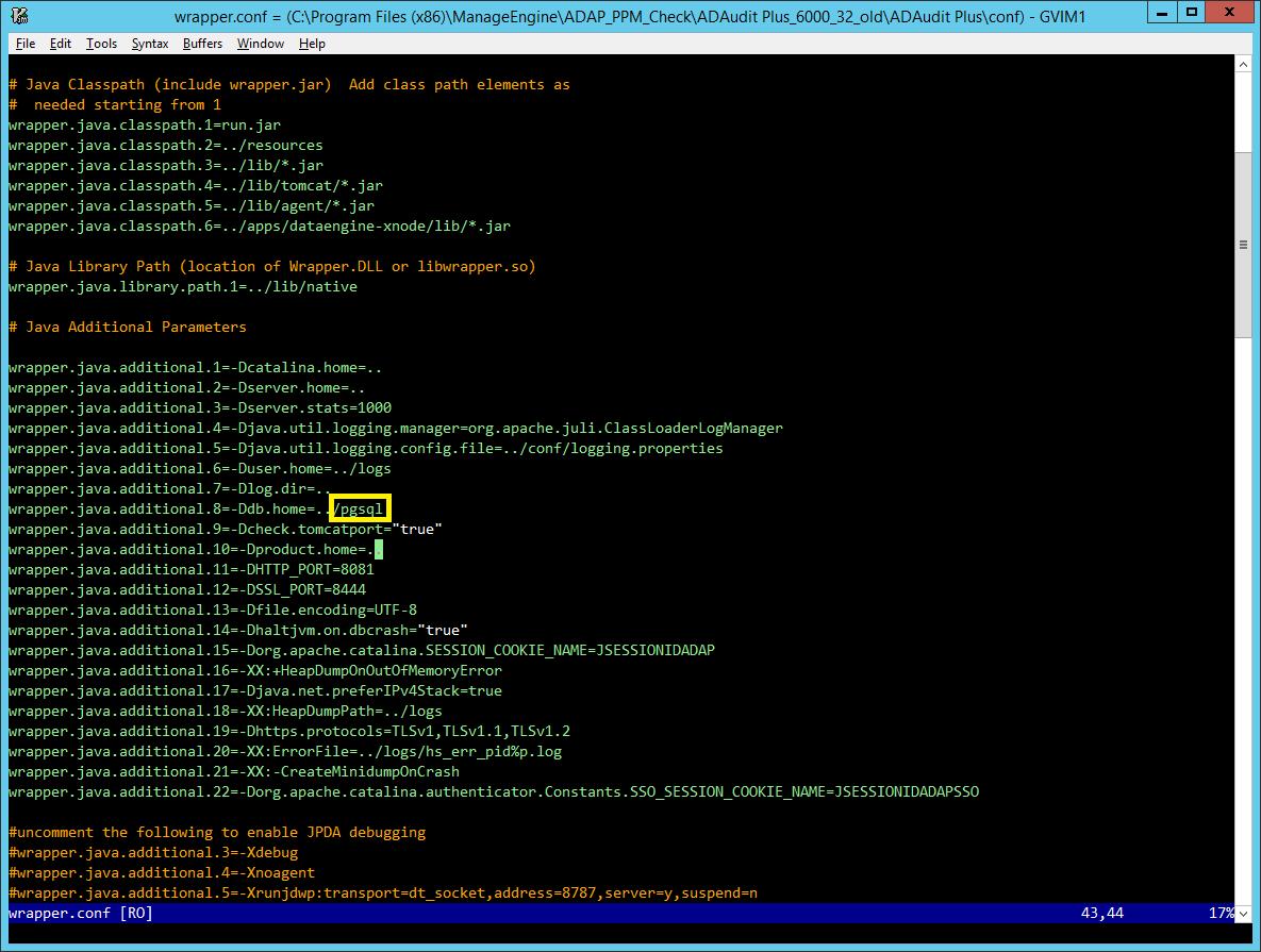 Migrating ADAudit Plus from 32-bit to 64-bit architecture