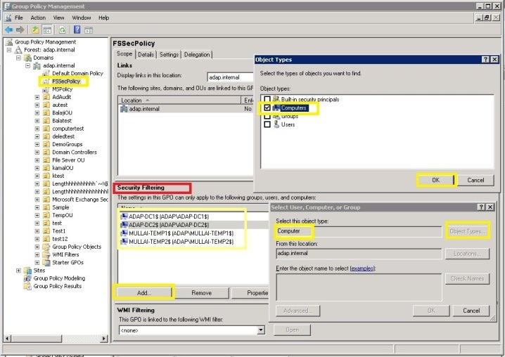 Manage 'Auditing and Security Log' Privilege
