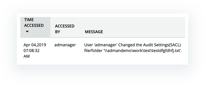 share based file folder changes