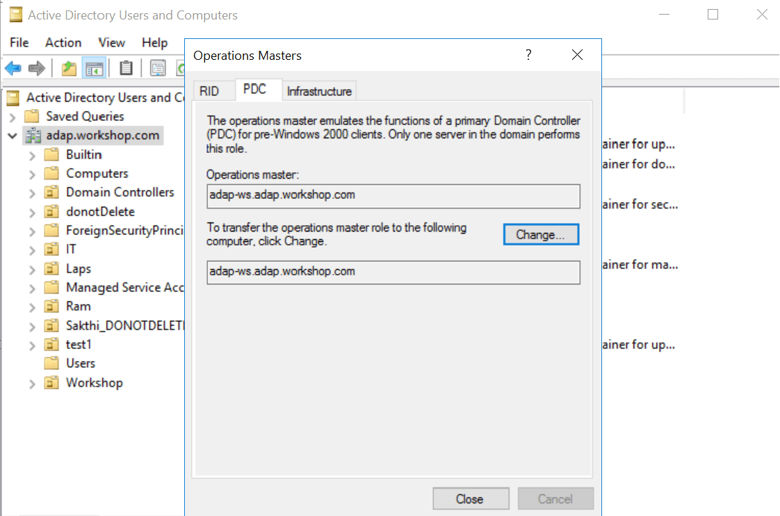 Configuringdomain controllers