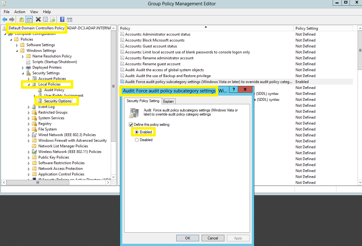 General Settings under the Admin tab
