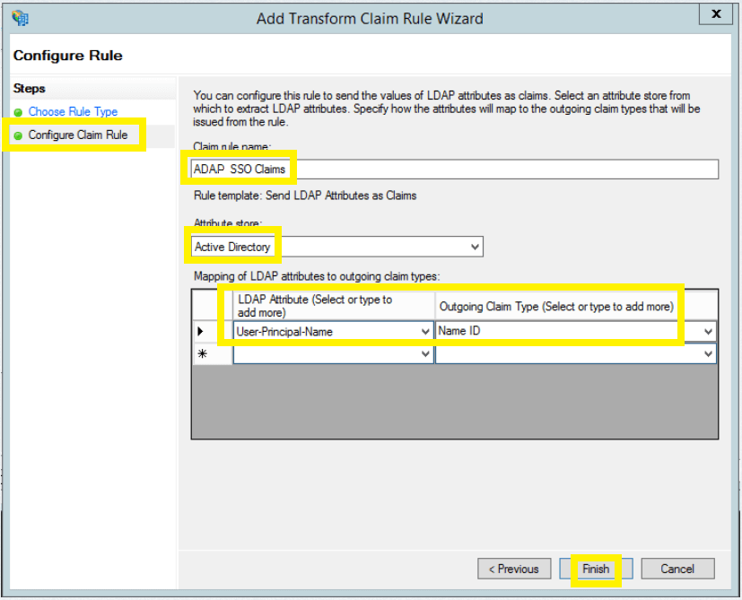 To enable NTLM-based single sign-on