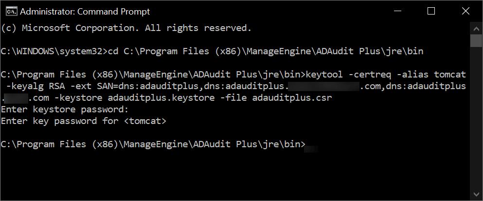 Steps for enabling SSL