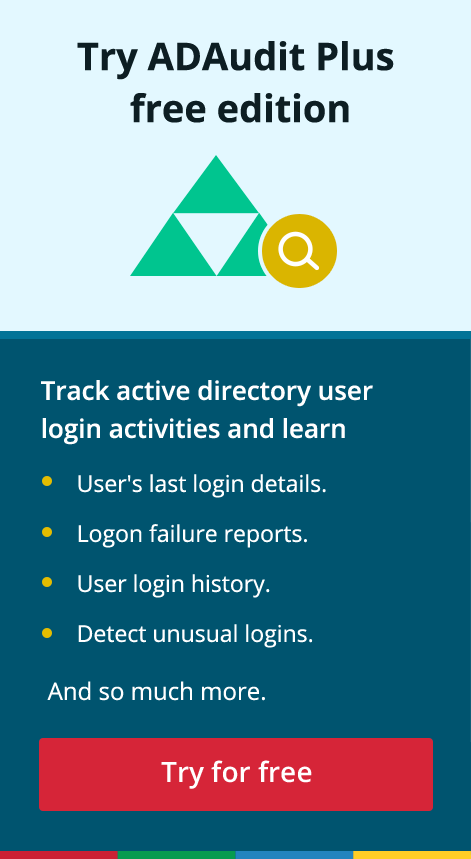 Active directory audit logon failure
