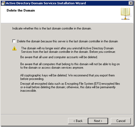 how-to remove-active-directory-in-windows-server-2008