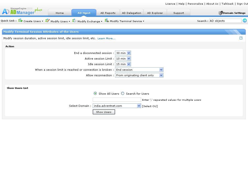 Gestion Et Administration Des Utilisateurs Active Directory