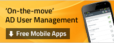 AD User Management Mobile Apps