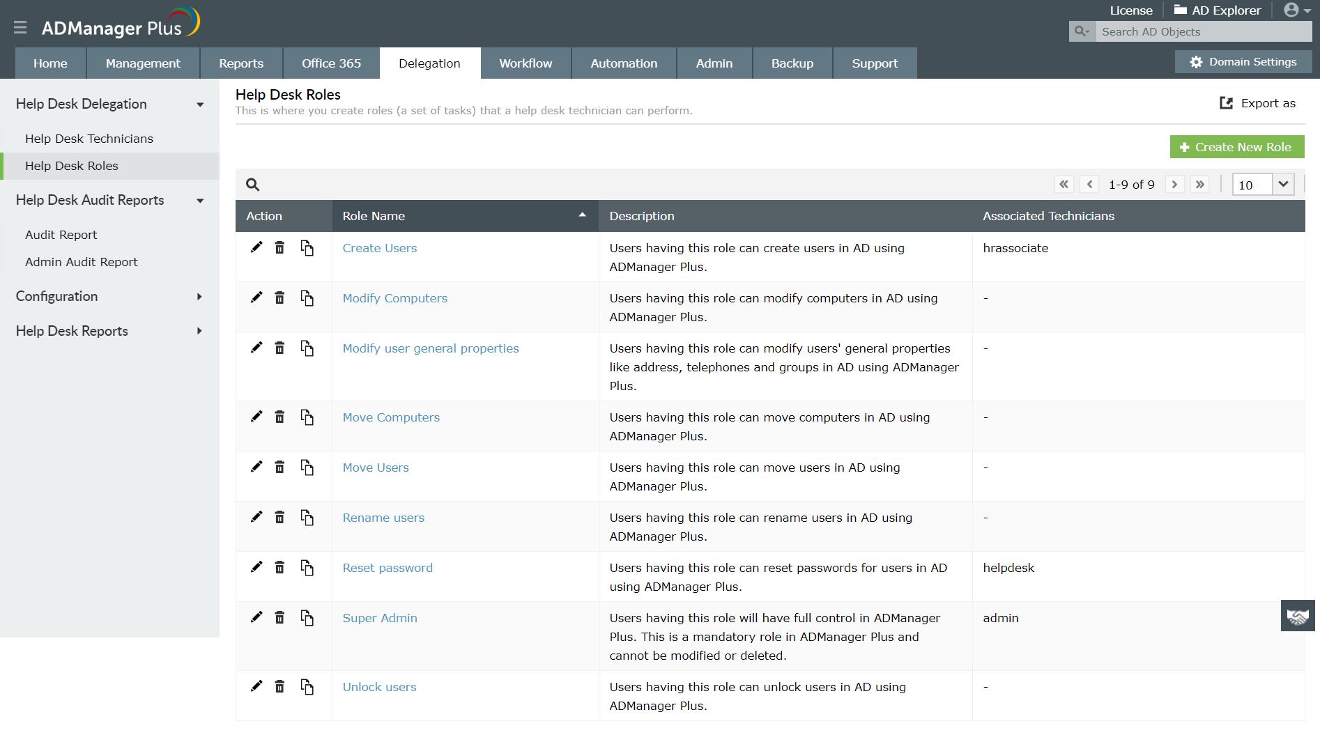 Active Directory Helpdesk Delegation: Delegate