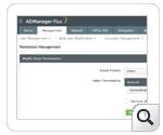 Add or modify share permissions